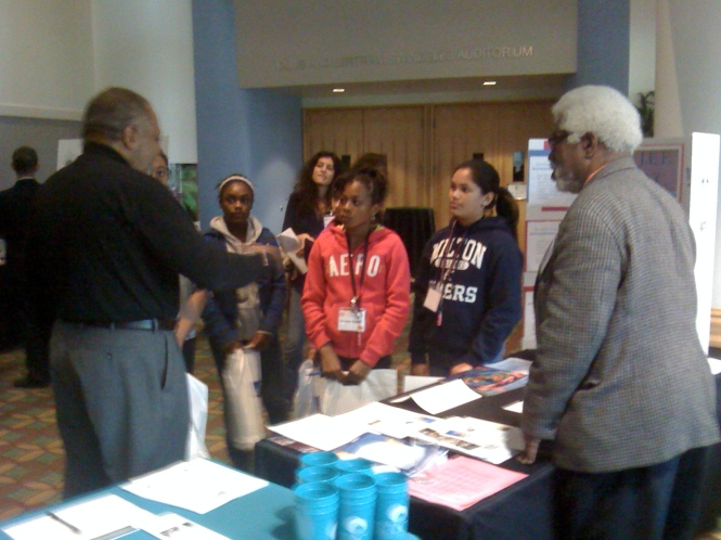 Community Outreach to Girls, at a Special Conference in Washington DC