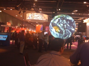 From the floor of the Supercomputing Conference where teachers go to learn, and take courses