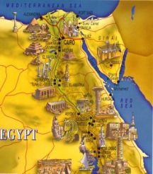 Ancient Egyptian Map 11
