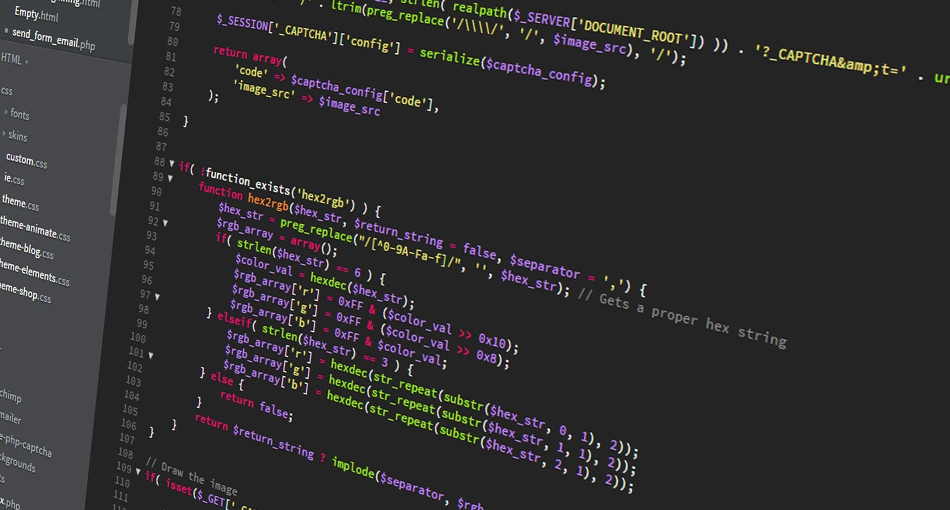 abstract business code coder